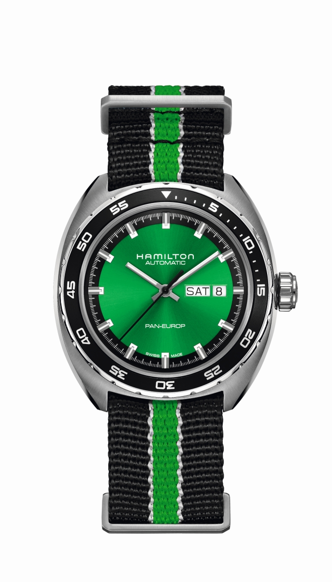 Hamilton_Pan Europ_Green Edition_H35415761_Euro 995,00_