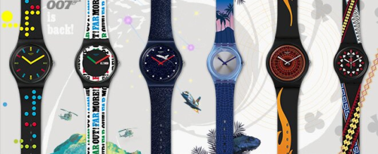 Die neue James Bond Kollektion von Swatch