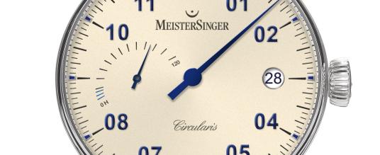 MeisterSinger Circularis Gangreserve