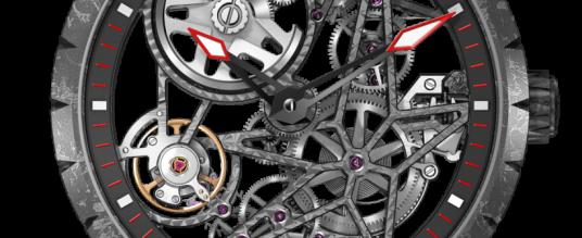 Skelettiertes Automatikwerk von Roger Dubuis: Excalibur