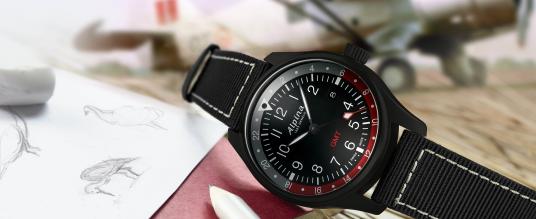 Alpina: Startimer Pilot Quartz GMT
