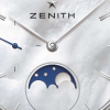 Zenith Elite Lady Moonphase in Edelstahl