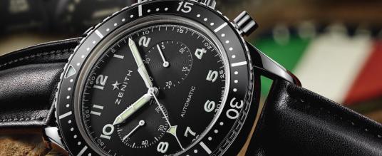 Zenith Heritage Cronometro TIPO CP-2: Hommage an die Luftfahrt