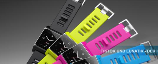 Mit TikTok und LunaTik zur iPod-Uhr