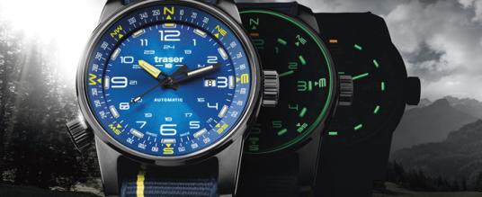 Für Entdecker: Die Traser P68 Pathfinder Automatic Blue