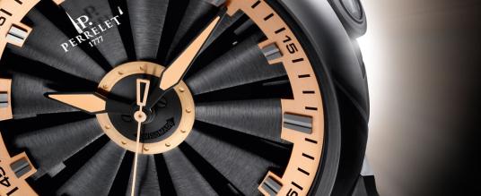 Perrelet präsentiert neue Turbine Gold