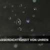 Wasserdichtigkeit von Uhren