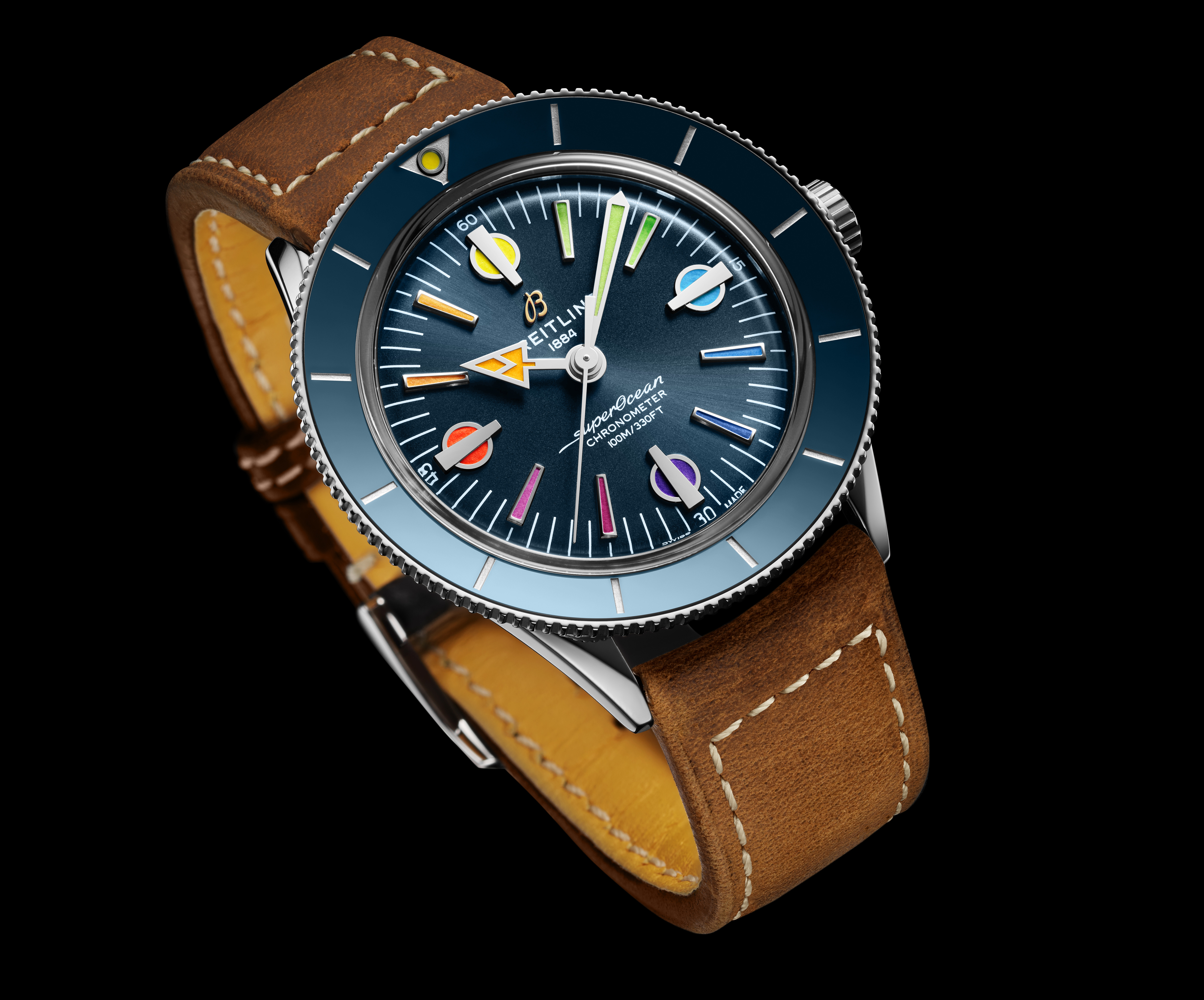 Superocean Heritage '57 Limited Edition II - A new rainbow in support of our frontline heroes
