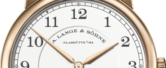 "1815 Thin Honeygold ""Homage to F. A. Lange"""