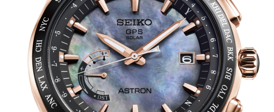 Seiko Astron GPS Solar World Time: Novak Djokovic Edition