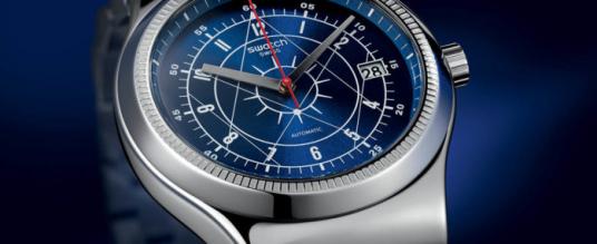 Jetzt in Edelstahl: Die neue Swatch Sistem51 Irony