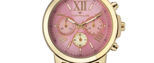 Voll im Trend: Die neuen Damenchronographen von Tom Tailor