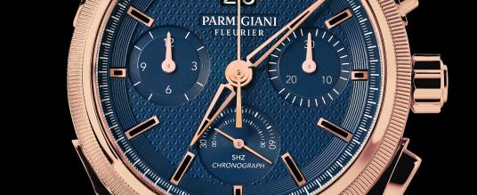 Parmigiani Fleurier Tondagraph GT Rose Gold Blue
